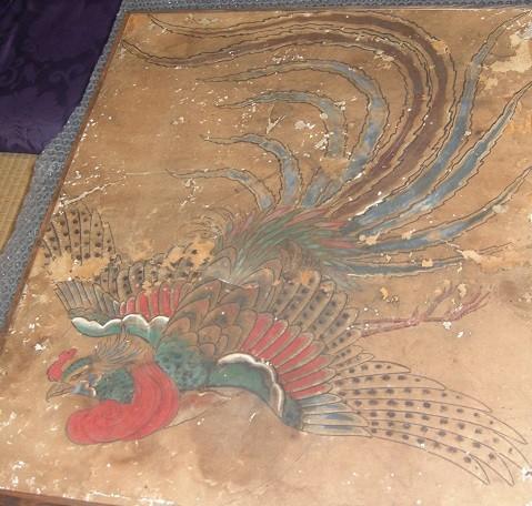 寺田洞仙 御堂天井画