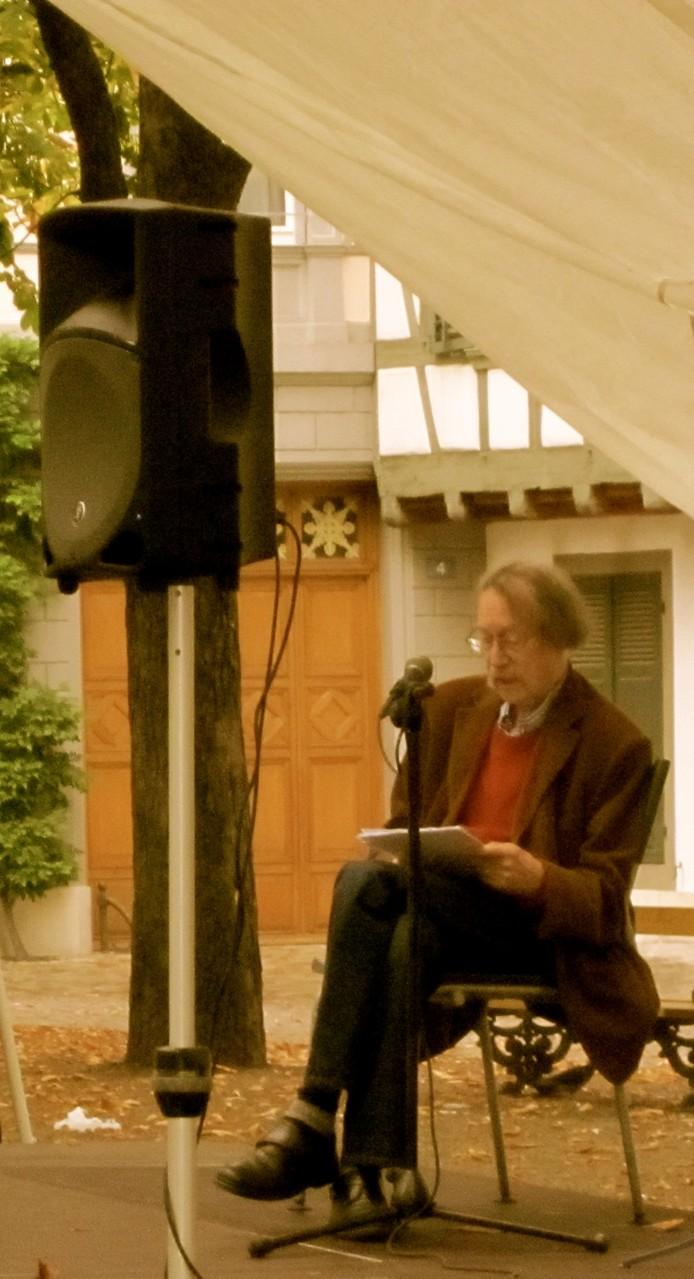 Lesung von René Regenass