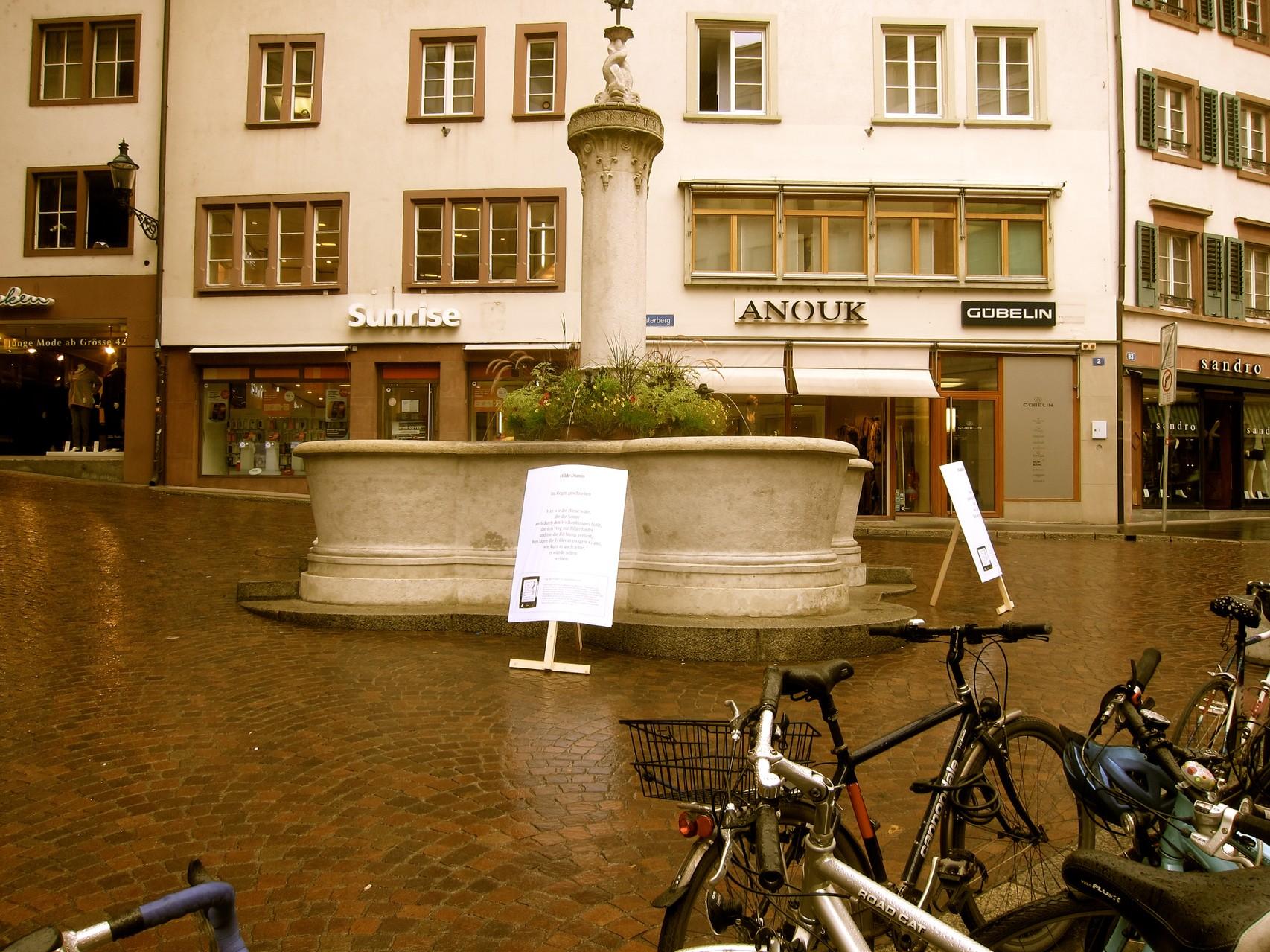 Brunnen Freie Strasse