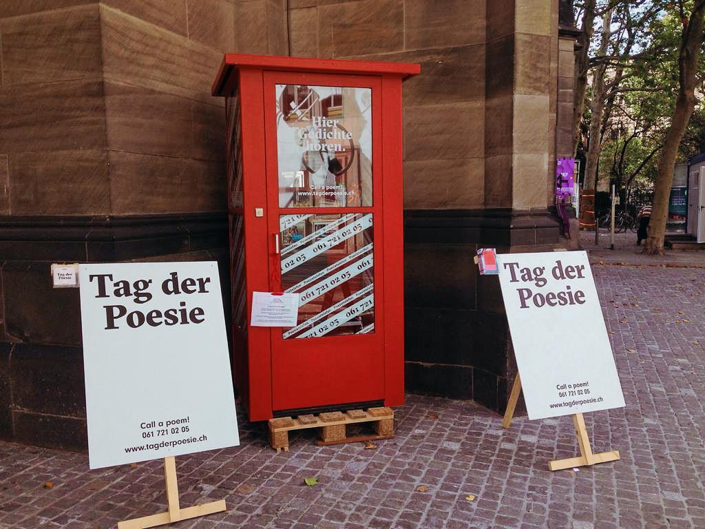 Es kann losgehen! Die Poesietelefonkabine wird Teil des Jugendkulturfestivals 2019