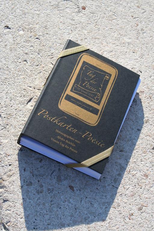 Die zum Tag der Poesie im Verlag Nachtmaschine erschienene 'Postkarten-Poesien'