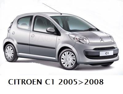 Aletta Citroen C1 1 /& Peugeot 107 5//2005-2//2014 Tetto CSR x-Line