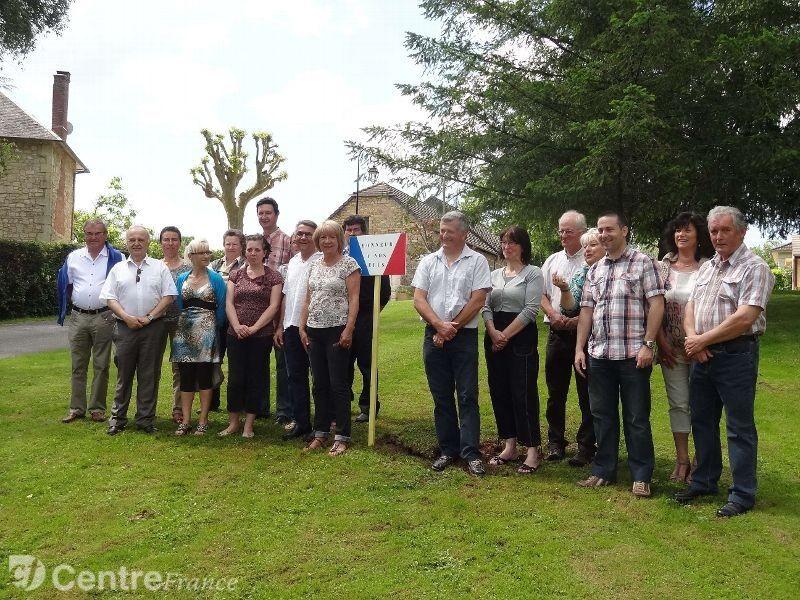 Les élus de Brignac et des communes environnantes - La Montagne 03/06/14