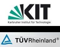 kit.edu und tuv.com Logos