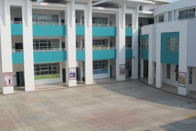 Lower Elementary Courtyard