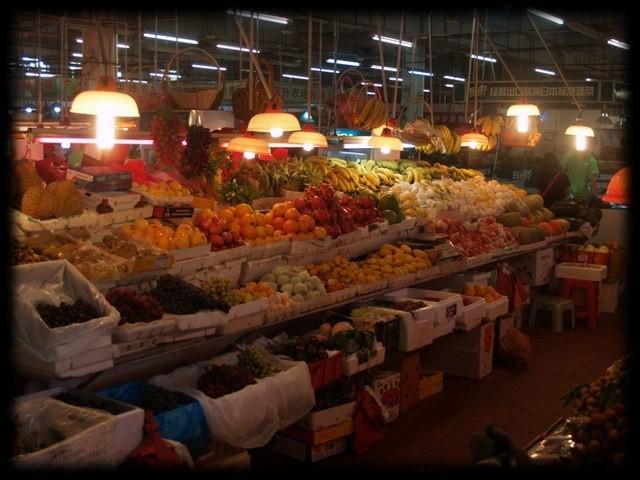 Wet Market - Fruit Stall