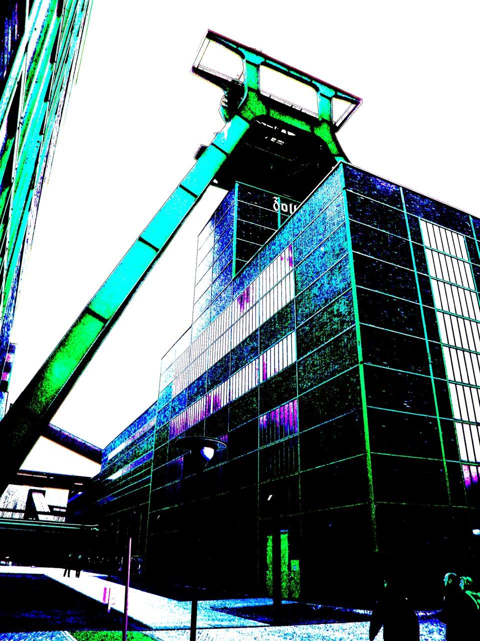 Zeche Zollverein Essen, 2010
