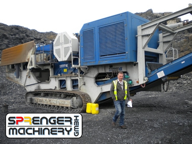 successful sale including transport organization and delivery of a Kleemann crusher from Ireland to Mongolia