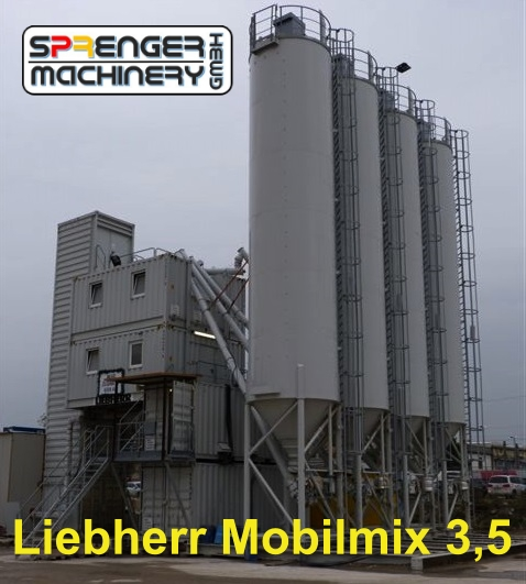 successful sale of a Liebherr Mobilmix 3.5 from Austria to Germany