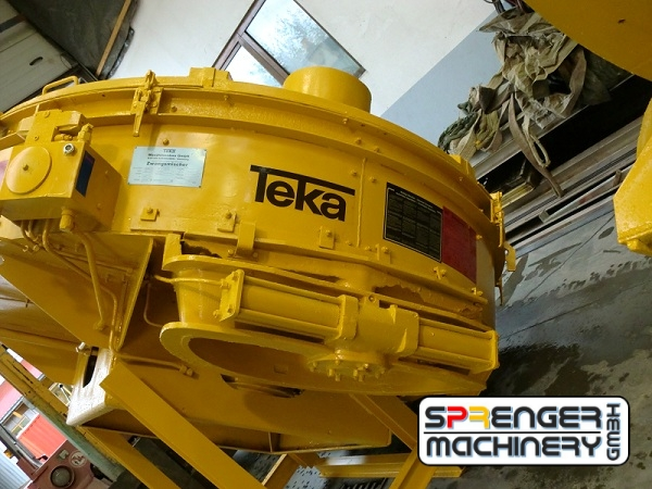 successful sale and transport organization of reconditioned Teka mixers from Germany to Laos