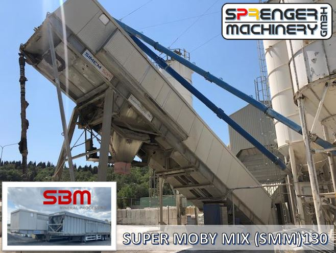successful sale, delivery, transport organization of an SBM Supermobimix 130 (SMM 130) from Italy / Florence to Germany