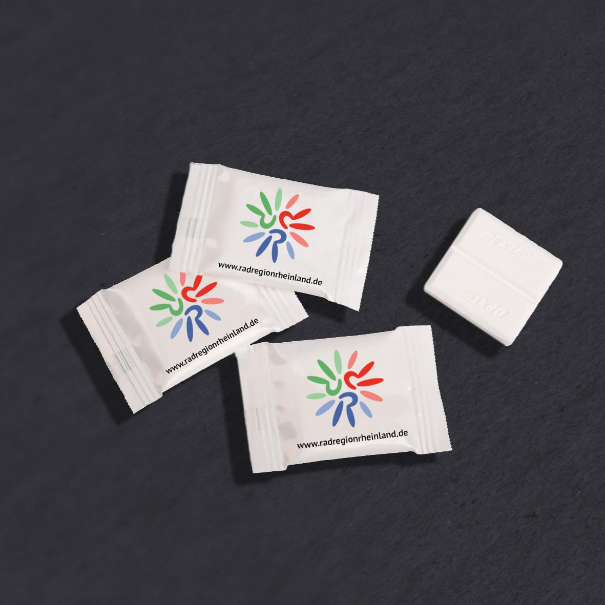 Dextro-Energen als Give-aways