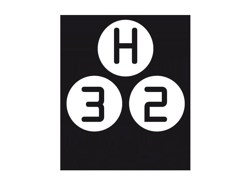 Logo Halle32 | Veranstaltungshalle auf dem ehemaligen Steinmüllergelände in Gummersbach | www.halle32.de