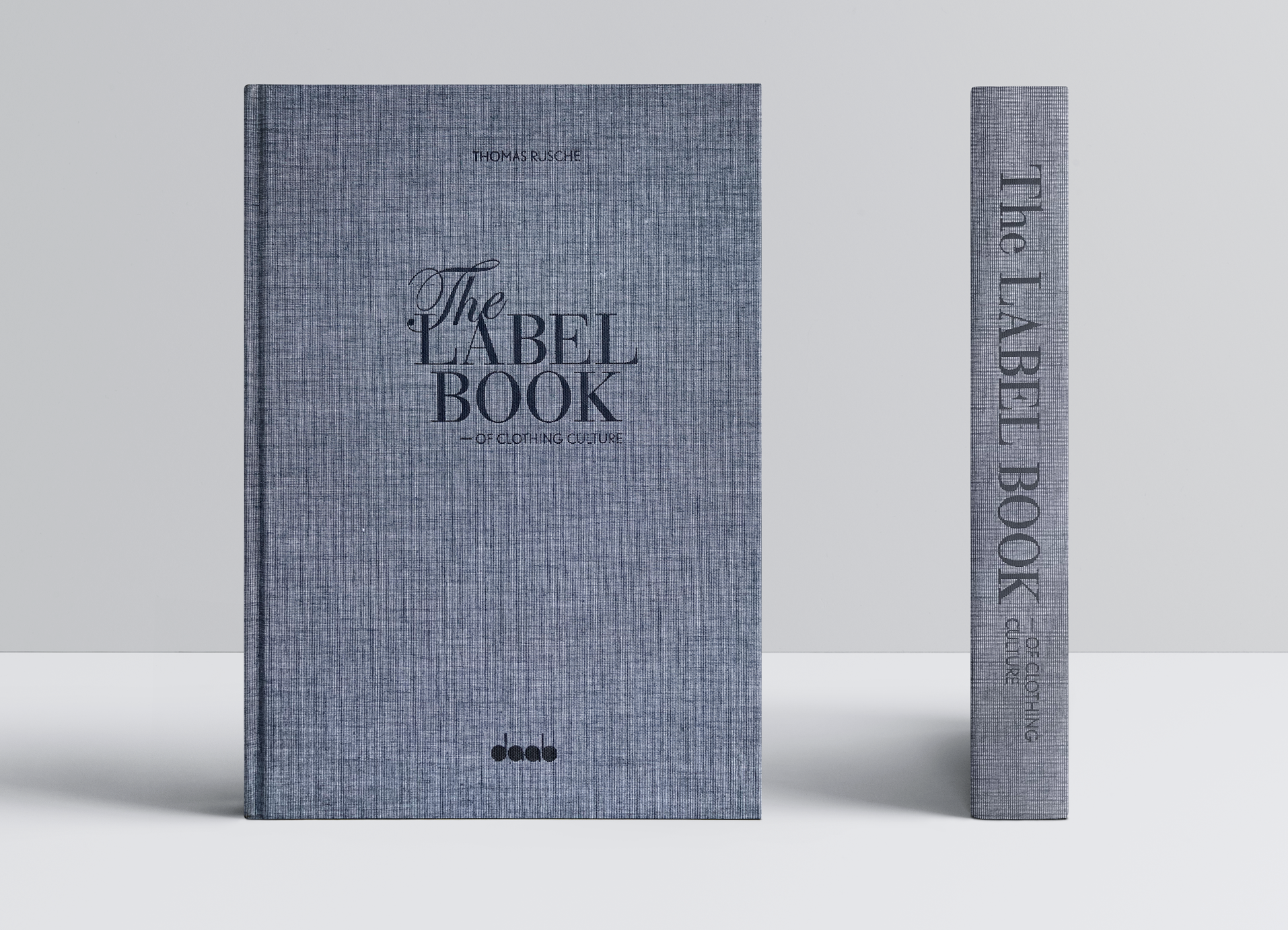 The Label Book of Clothing Culture, DAAB Verlag, Cover und Rücken