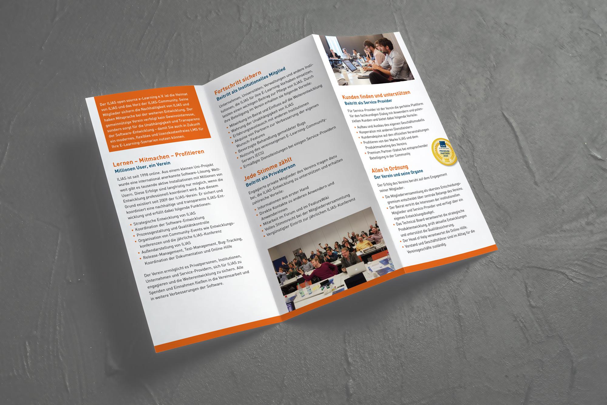 Faltblatt ILIAS-Verein Innenseite