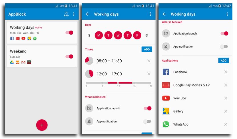 AppBlock - Bleib konzentriert, © MobileSoft s.r.o.