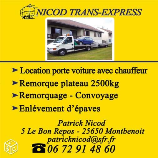 Nicod Transport-Express Montbenoit