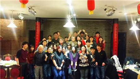 2015年年末中国語コースの新年会