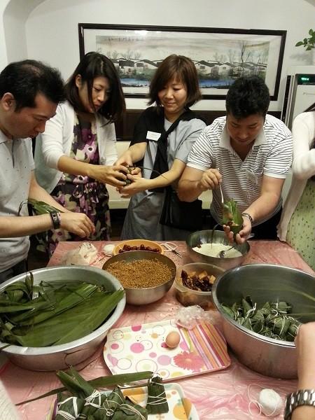 粽をいっぱい作ります