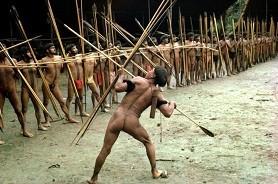 индейцы яномами, воины