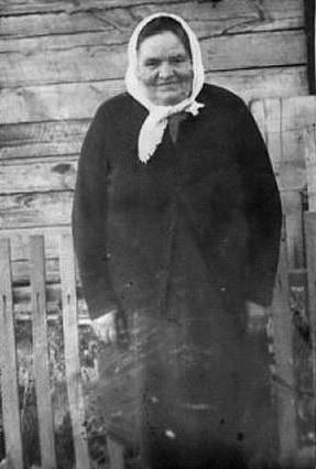 Екатерина Фоминична (Берсенева, Вертипрахова) Снигирь 1900-1985 г ферма Майская.