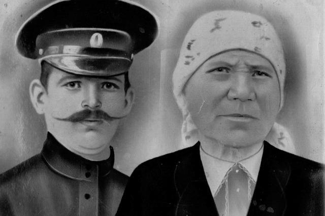 Рыжов Василий Иванович и Рыжова (Хромова) Федосья Павловна