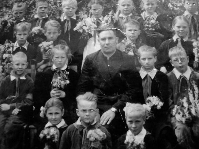 Екатерининская школа 1962 г. 4 класс