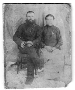 1. Берсенев Фома Яковлевич и его жена Анна (Первушина) начало 20 века.