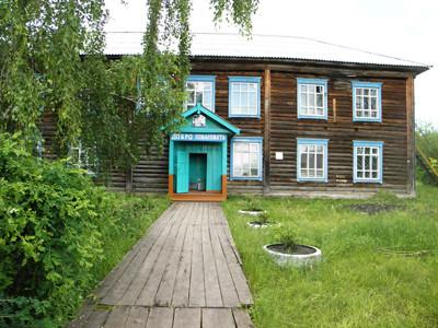 с. Екатериновка 2011 г. Здание школы