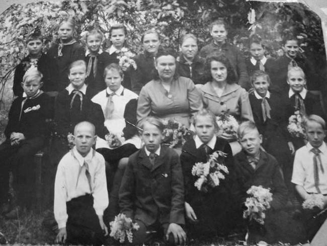 Екатерининская школа 1963 г. 5 класс