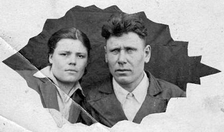 Игнатенковы Галина Александровна (Вертипрахова) и Трофим Матвеевич 1910 года рождения.