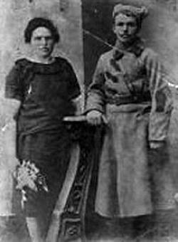 Супруги Екатерина Фоминична (Берсенева) и Александр Иванович Вертипраховы.