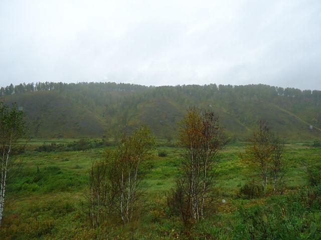 Место где была деревня Усть Караскырская