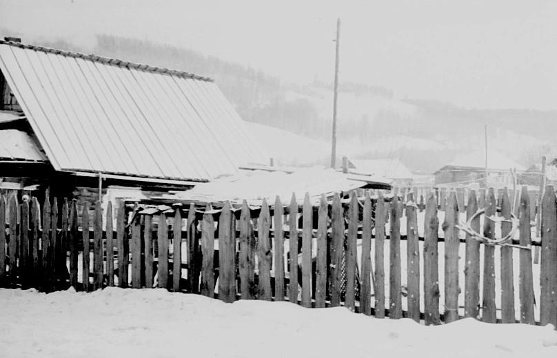 Деревня Королевка (Вопиловка) февраль 1971 года.