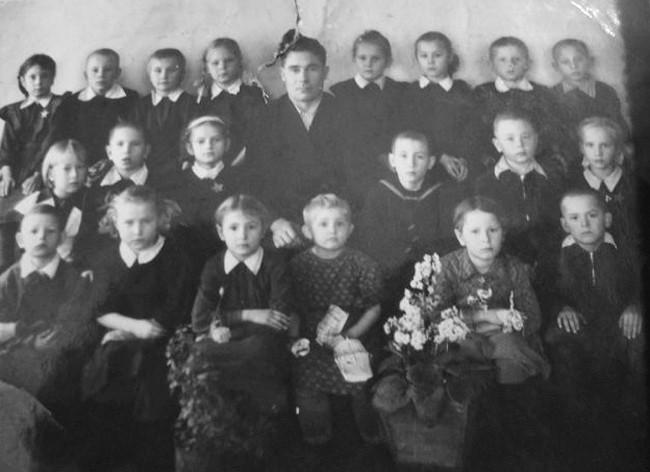 с. Екатериновка 1958 г. 1 класс