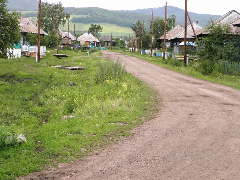 с. Екатериновка (Екатерининское) ул. Кирова (Заречная) 2012 г.
