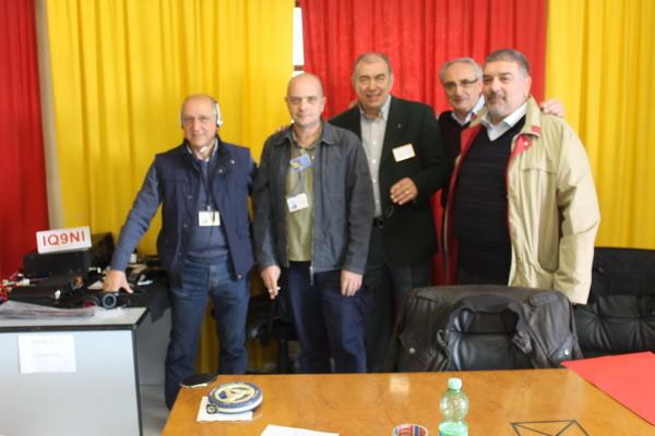 Gli amici di IQ9NI sezione ARI di Caltanissetta