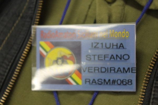 Stefano IZ1UHA ospite d'onore del RASM