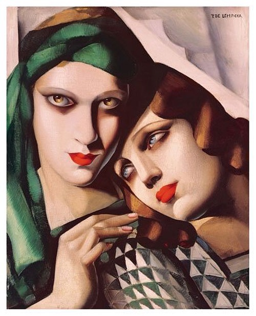 "T. de Lempicka, ""Il turbante verde"" (1930)"