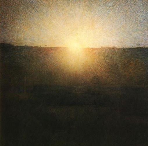 """Pellizza da Volpedo, """"Il sole"""" (1904)"""