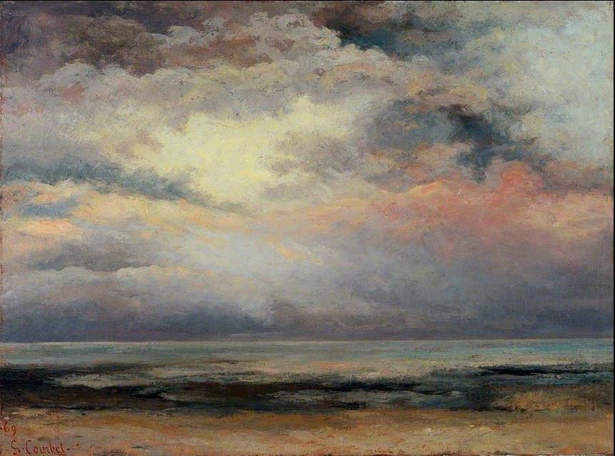"""Gustave Courbet, """"L'immensità"""" (1869)"""