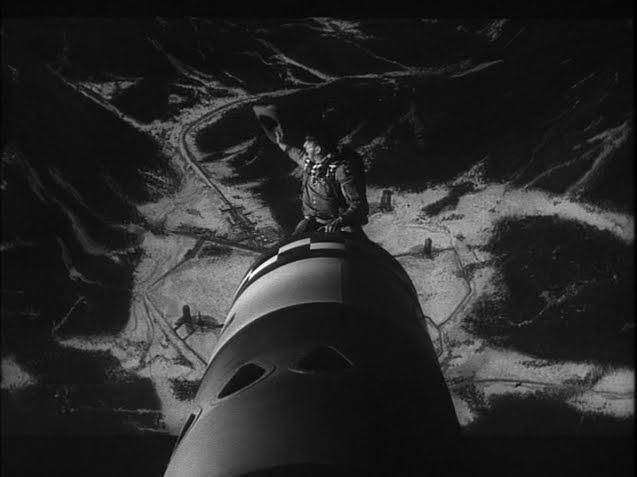 """Iconica """"cavalcata"""" sulla bomba H. Scena del film """"Il dottor Stranamore"""""""