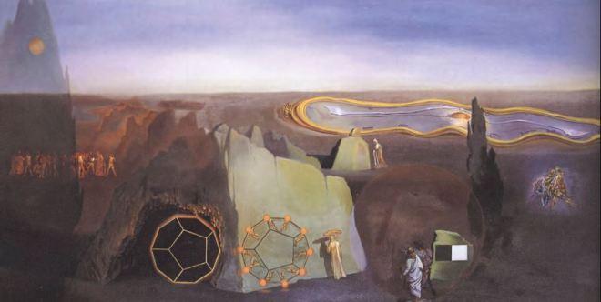 """Salvador Dalì, """"Alla ricerca della quarta dimensione"""" (1979)"""