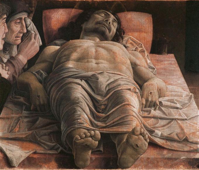 """Andrea Mantegna, """"Compianto sul Cristo morto"""" (1775-78)"""