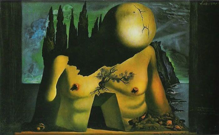 "S. Dalì, ""Il labirinto"" (1941)"