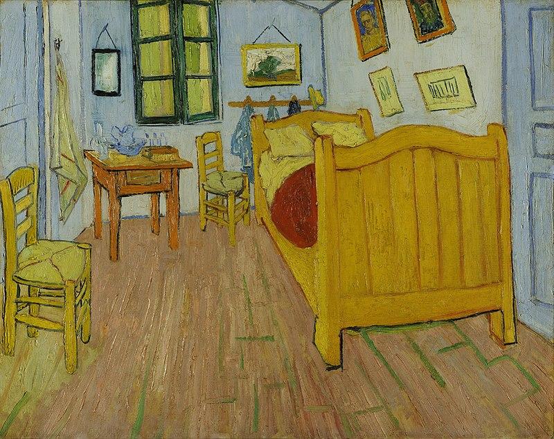 """V. Van Gogh, """"La camera di Vincent ad Arles"""""""