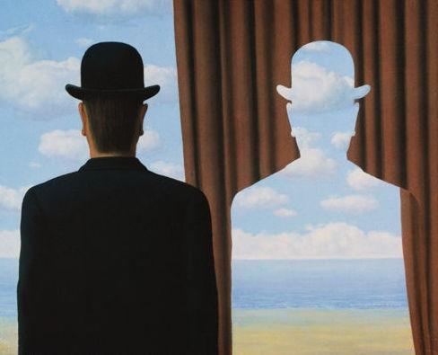 """René Magritte, """"Decalcomania"""" (1966)"""