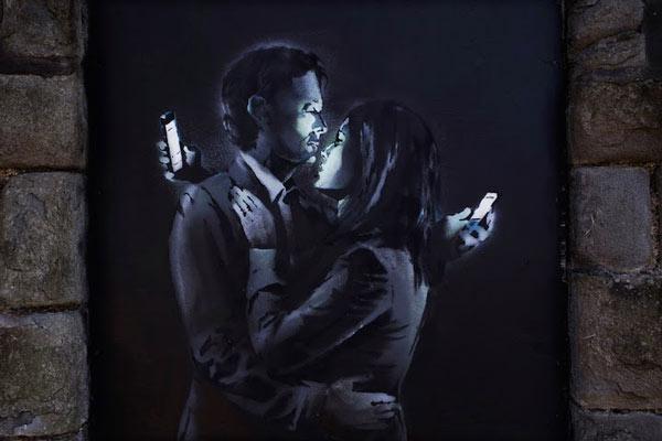 Murales di Banksy