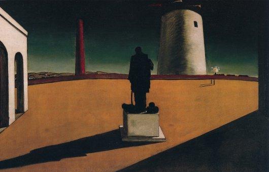 """Giorgio De Chirico, """"L'enigma di una giornata"""" (1914)"""