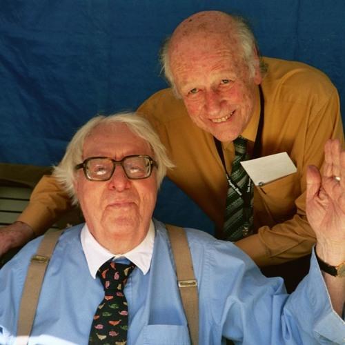 Ray Bradbury (a sinistra) col produttore cinematografico Ray Harryhausen